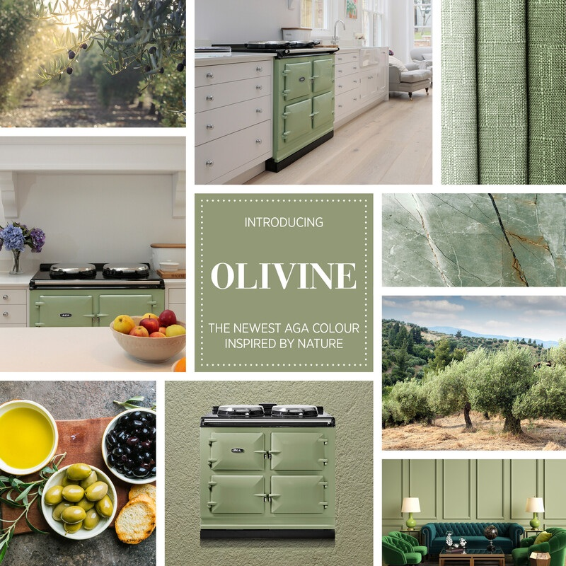 Introducing Olivine - The New Shade by AGA