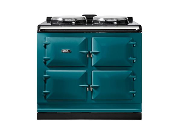 AGA R7 100-3, 3 oven AGA Cooker 7 Series in Salcombe Blue