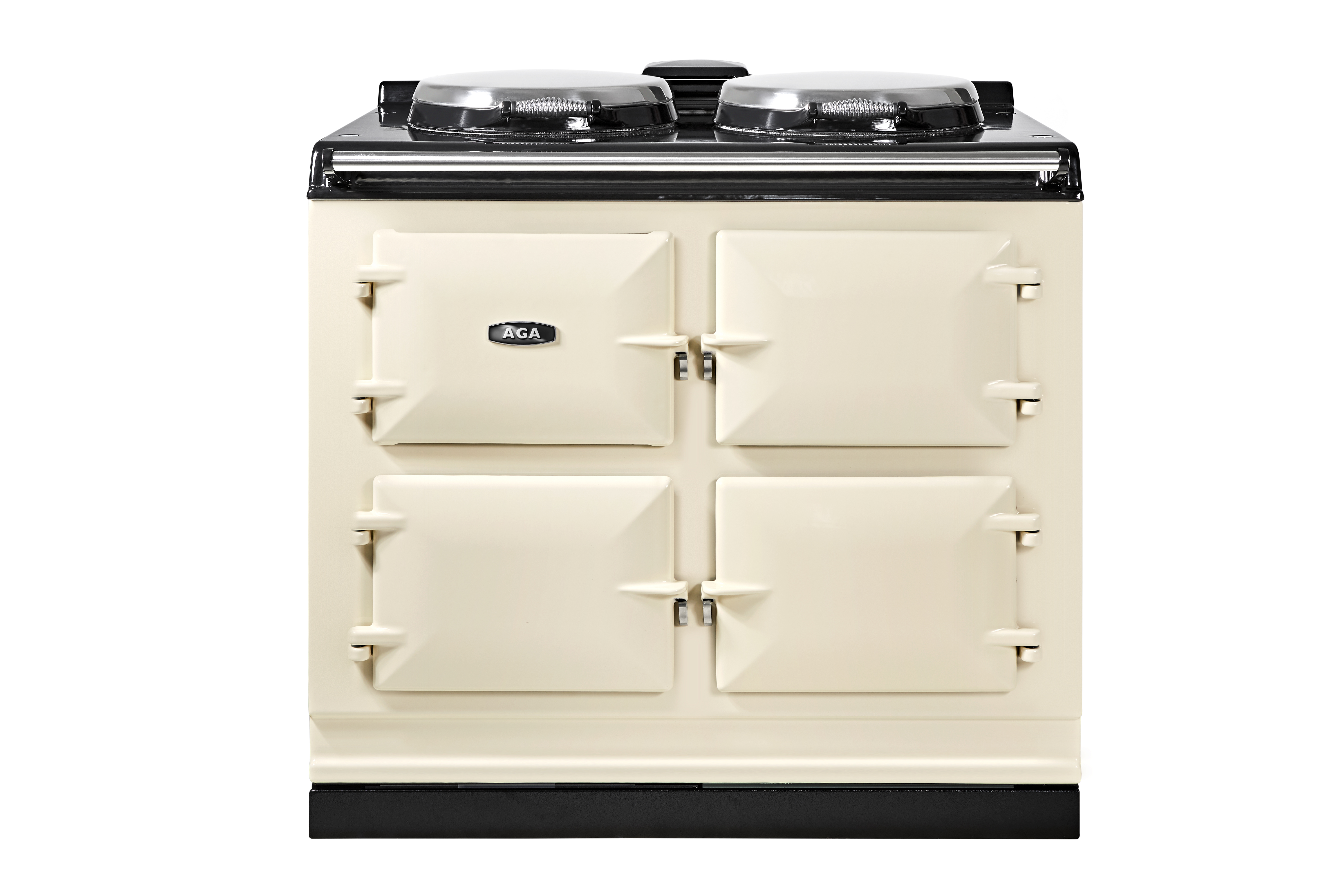 R7 100-3, three oven 7 Series AGA Cooker in Linen