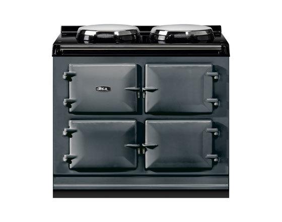 Three oven Dual Control AGA Cooker in Slate