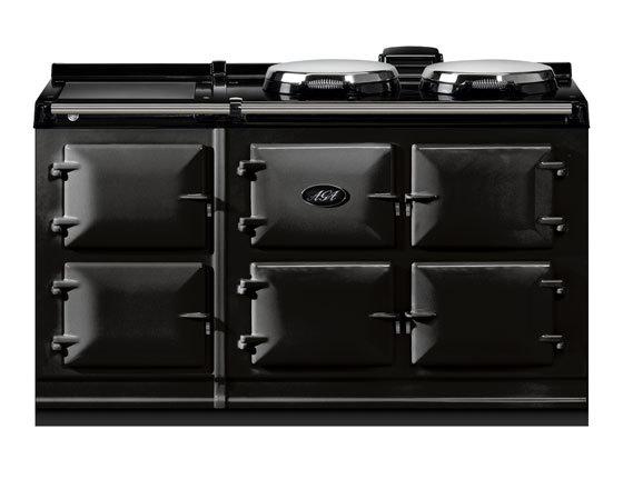 5 Oven, Black, Total Control AGA Cooker