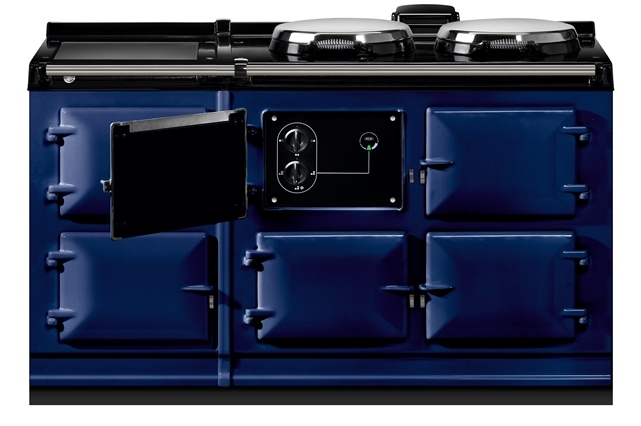 AGA Dual Control Cooker 5 oven in Dark Blue