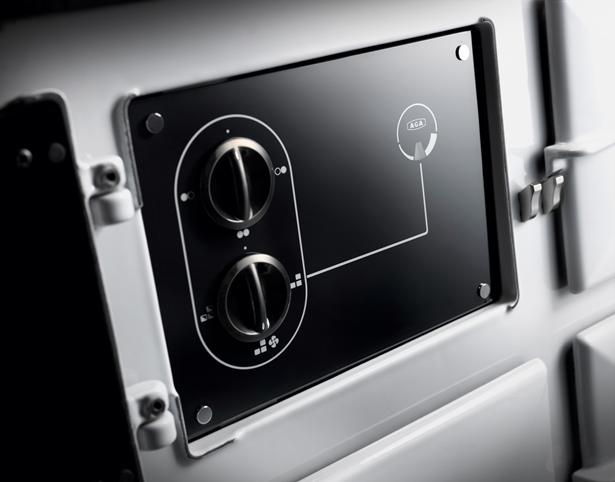 AGA Dual Control control panel