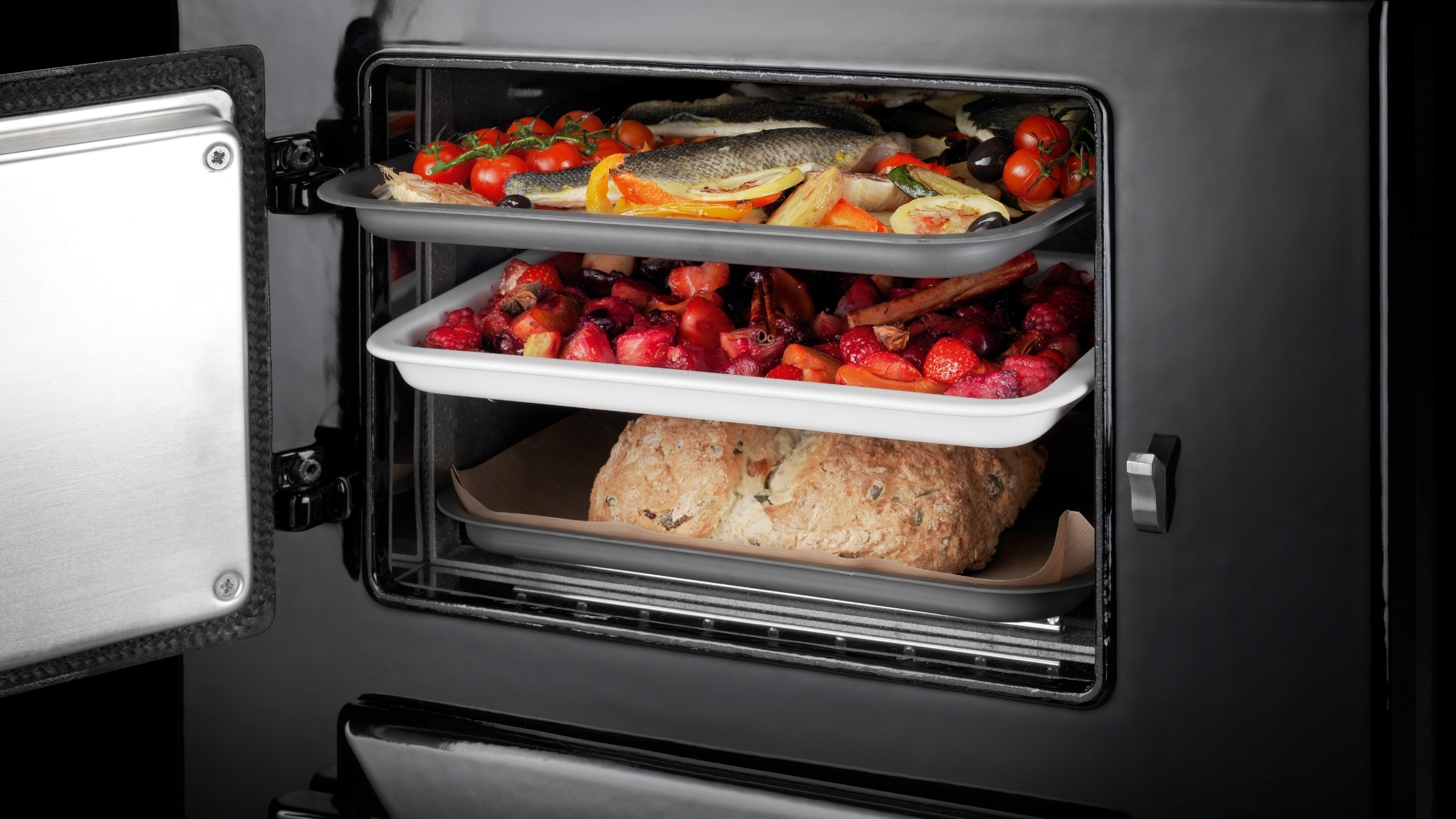 Top Roasting and Baking Oven AGA 60