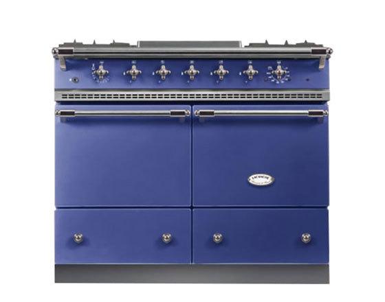 Lacanche Cluny 1000 Dual Fuel in Portuguese Blue