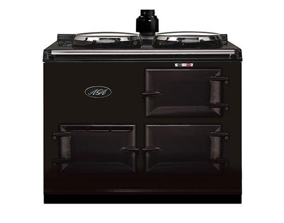 2 Oven, LPG, Standard Flue, AGA Cooker in Pewter