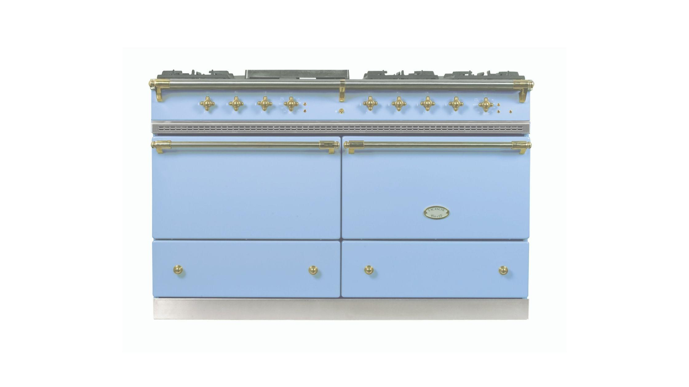 Chalonnais in Delft Blue with Brass Trim
