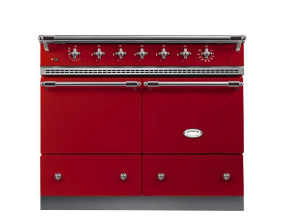 Lacanche Cluny 1000 Induction in Cherry Red