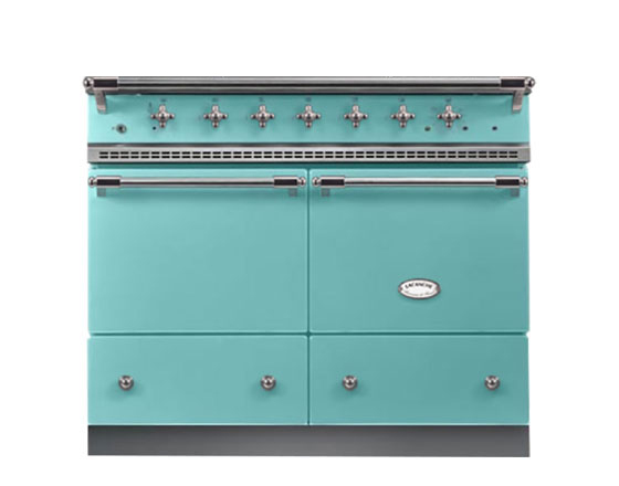 Lacanche Cluny 1000mm Induction Hob in Teal Blue