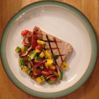 Tuna with Mango Salsa