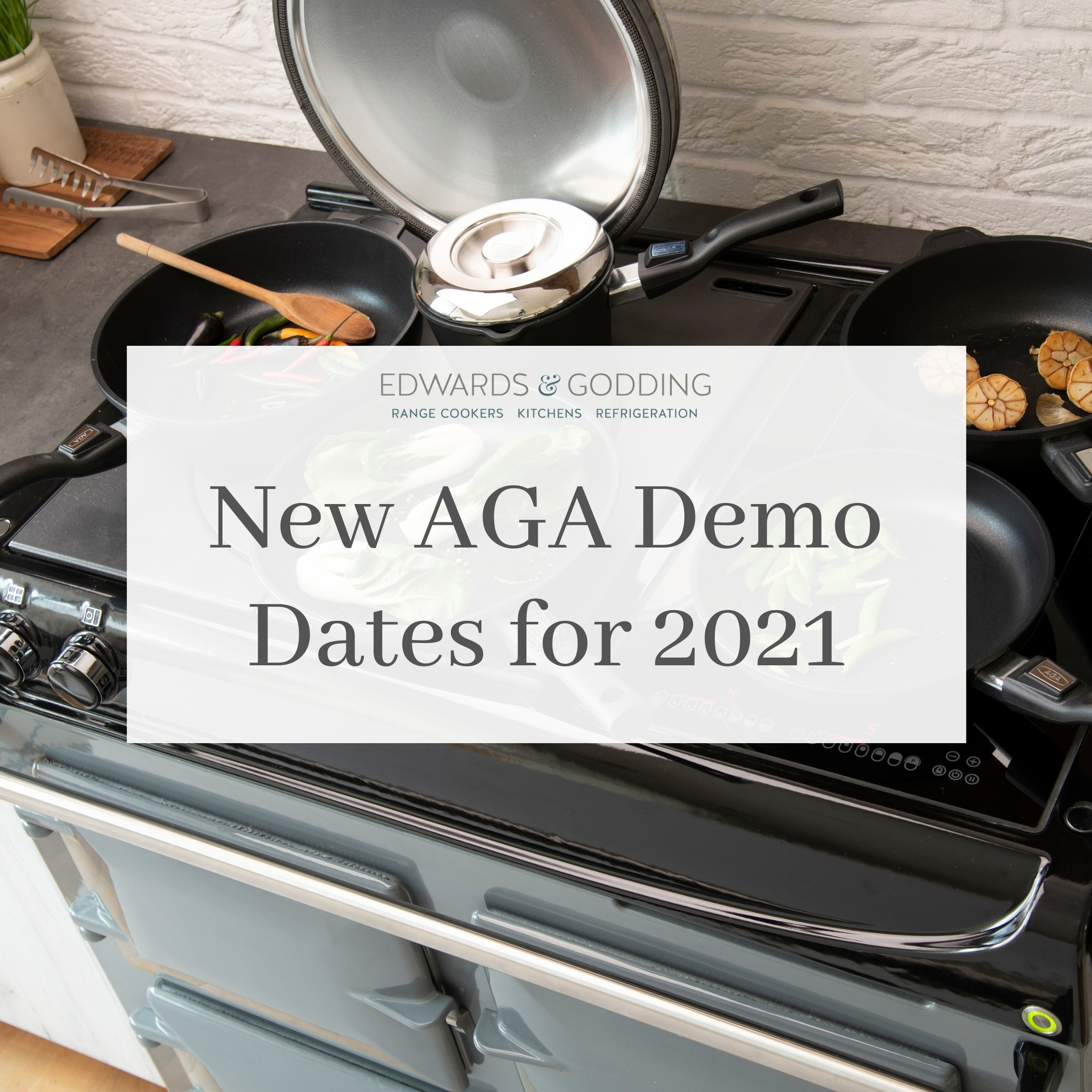 New AGA Cookery Demonstration Dates for 2021