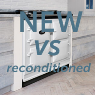 Decide between a NEW or reconditioned AGA