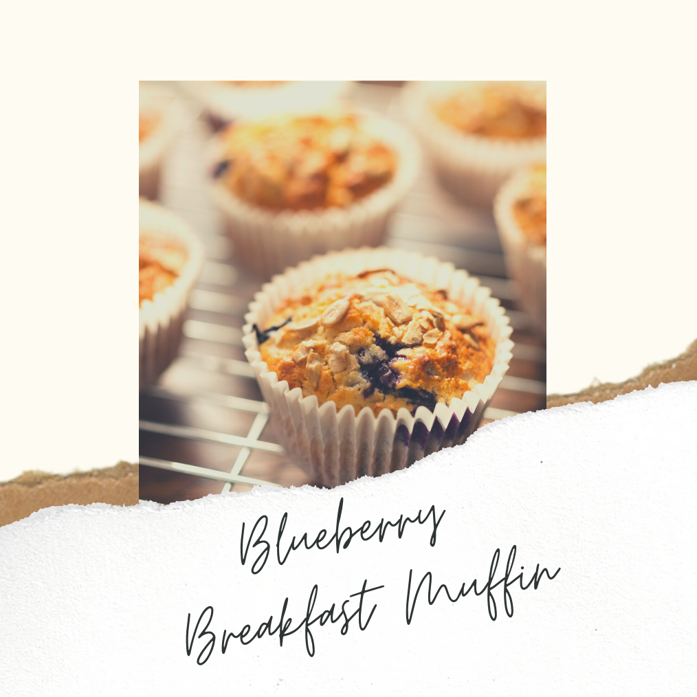 AGA Recipe: Blueberry Breakfast Muffins
