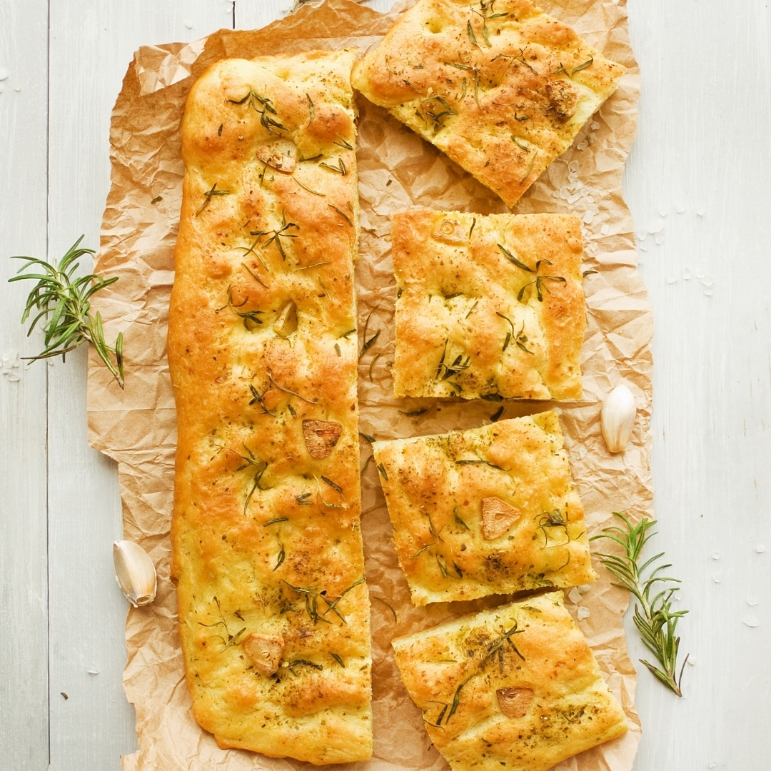 How to make Focaccia bread on the AGA