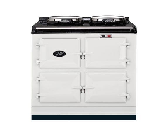 AGA 3 oven Dual Control Electric in White