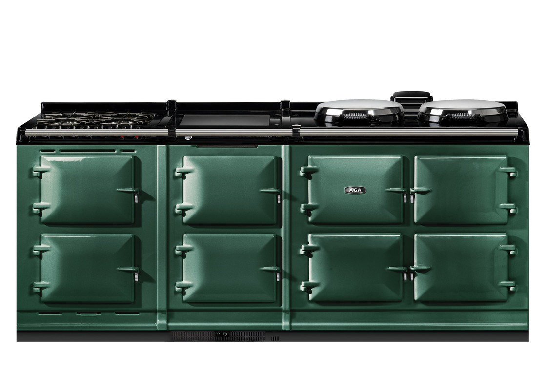 AGA eR7 210-7 with Warming Plate + Gas Hob