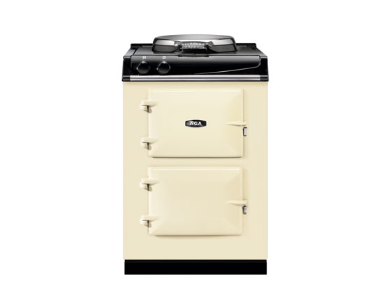 AGA 60 with traditional Hotplate in Linen