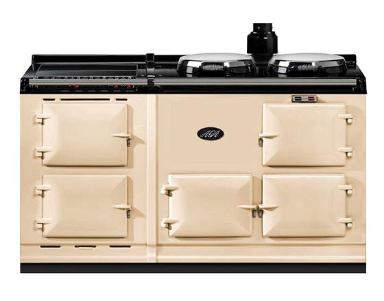 AGA 2 oven gas conventional flue + module