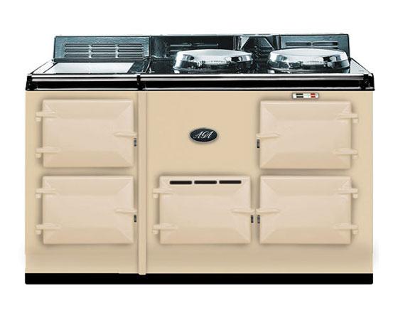 AGA 4 oven gas power flue