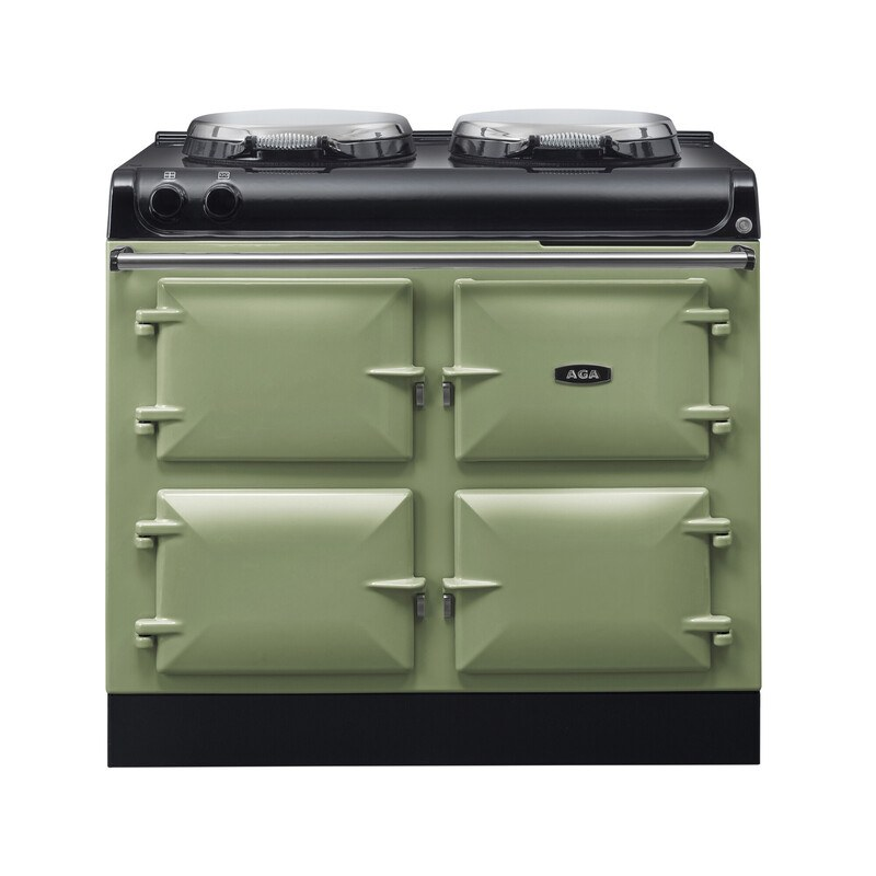 AGA R3 100-4h with Twin Hotplates